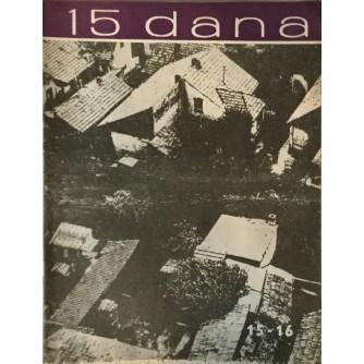 15 DANA ČASOPIS 1963. BROJ 15-16